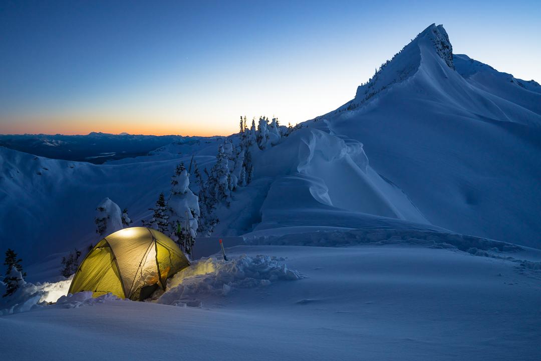 Coleman Pinnacle Camp