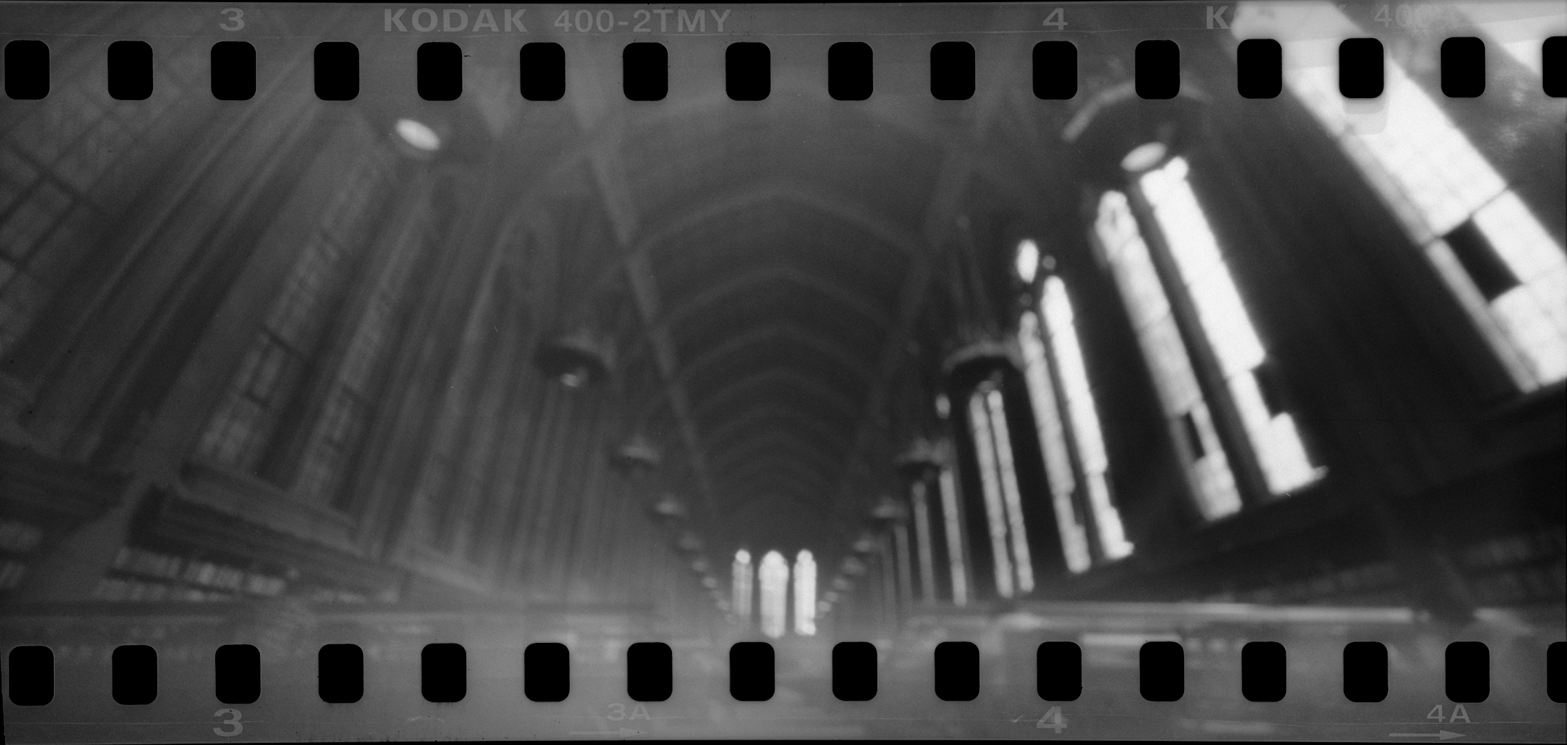 Suzzallo Library's reading room. 30 second exposure.