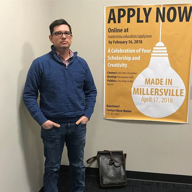 René Muñoz recommends filling out your applications for Made in Millersville || CONNECT•DEVELOP•PUBLISH ||
