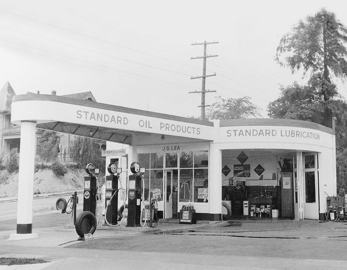 The original University location began as a gas station in the 1930s.