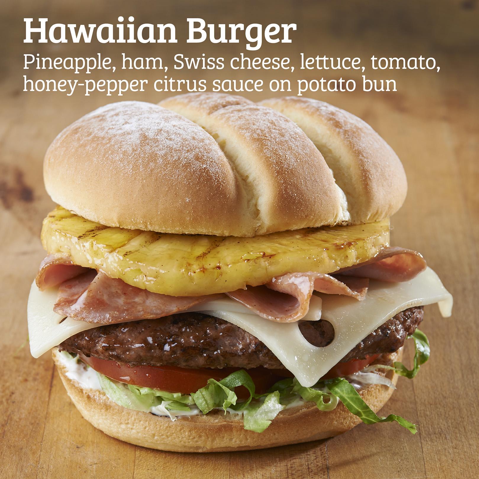 Kidd Valley Hawaiian Burger