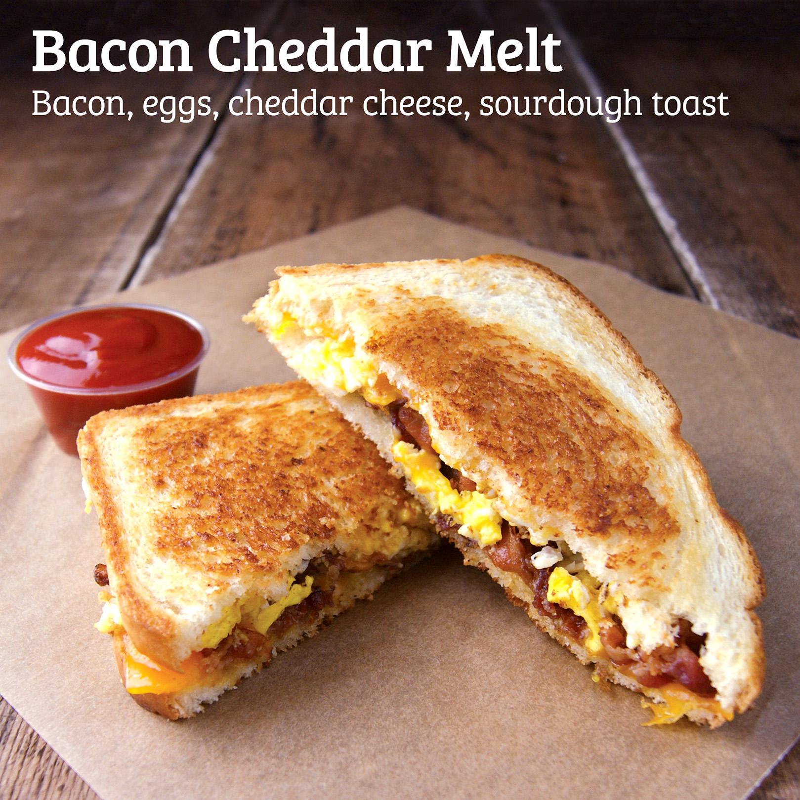 Kidd Valley Bacon Cheddar Melt