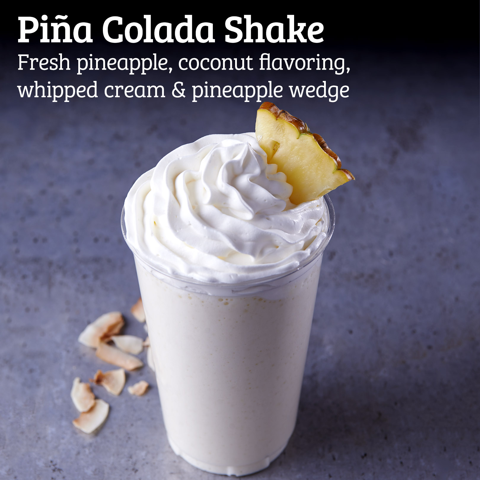 Kidd Valley Piña Colada Shake
