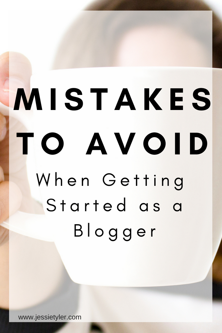 Mistakes to avoid when getting started as a blogger