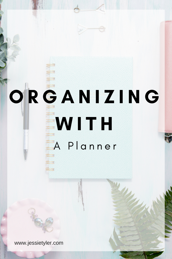organizing with a planner