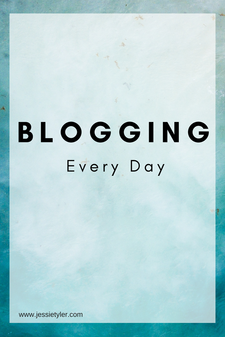 Blogging Every Day