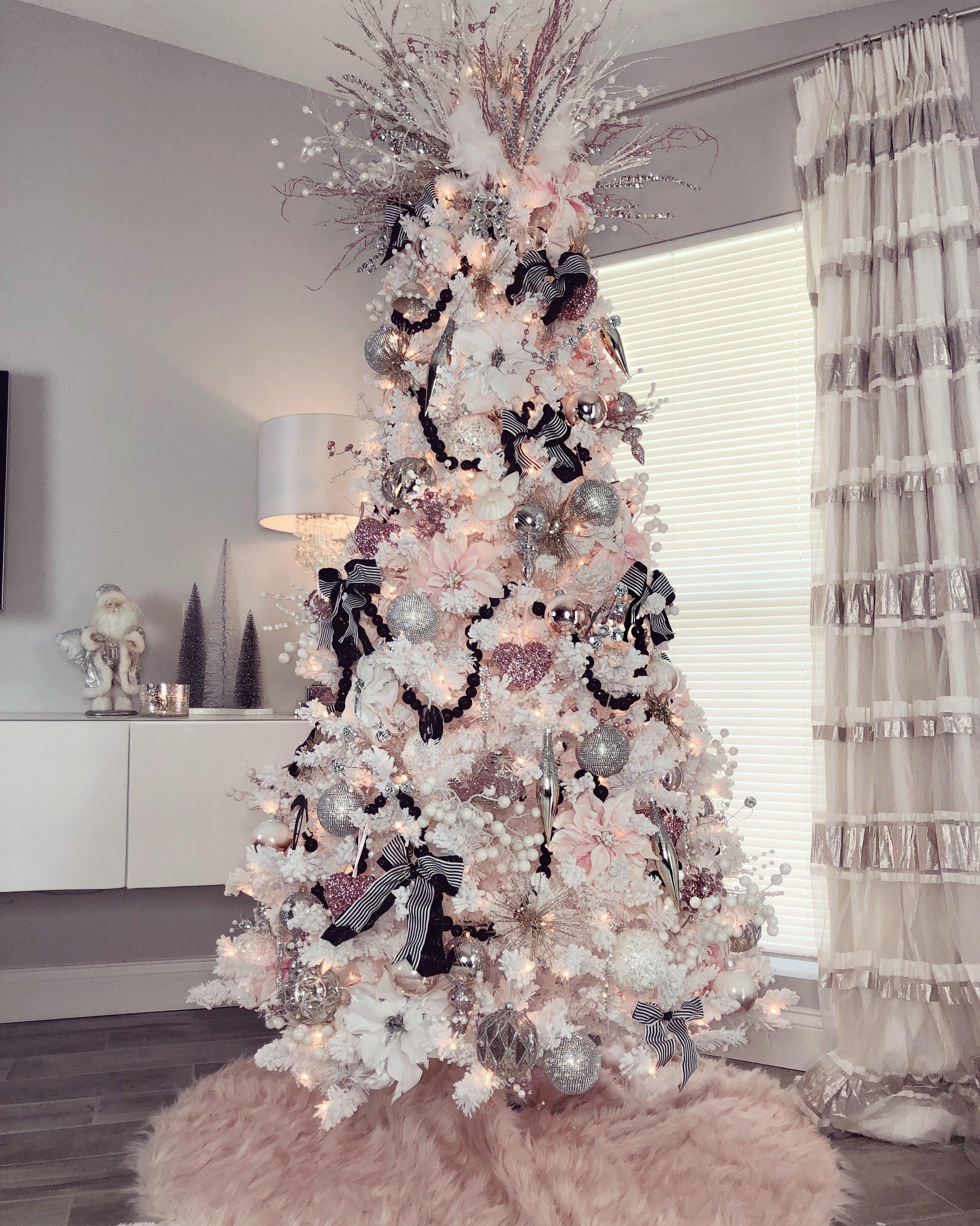 Pink And Black Christmas Tree Blog Jackie Riley