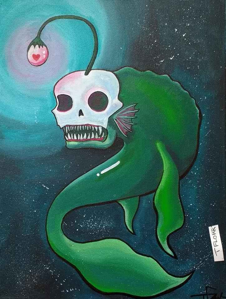 Aquatic Space Monster - Plenty of Fish in the Sea