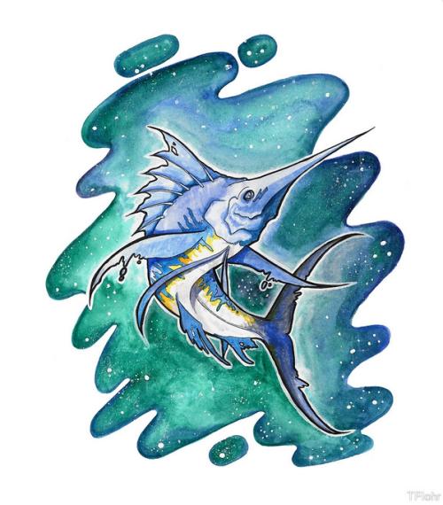 Starry Eyed Sword Fish