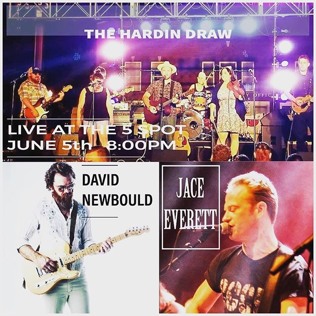 Hey friends! We will be coming back to east Nashville this week! come see us play with David Newbould and Jace Everett tomorrow night at the 5 spot at 9pm :) . . . . . . #thehardindraw #jaceeverett #davidnewbould #eastnashville #musiccity #tennessee #fivepoints #nashville #rock #americana #folk #bluegrass #supportlocalmusic #thefivespot