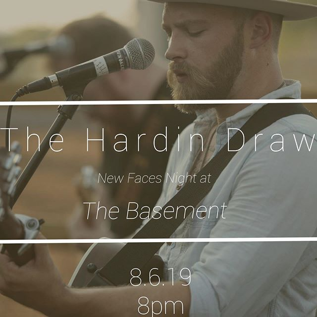 We've got a show coming up on Tuesday, 8/6 at the OG Basement! Show starts at 8pm, bring yo frandz . . . . . #thehardindraw #nashville #musiccity #roots #americana #thebasement #newfacesnight #folk #indie #diy #music