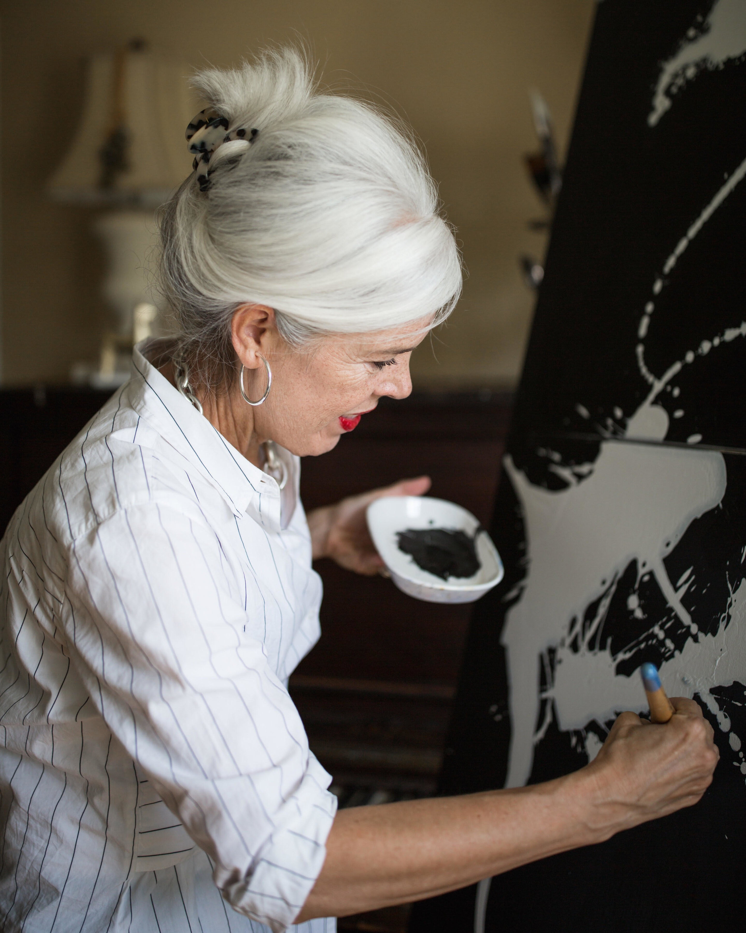 Leslie Poteet Busker  by  Elizabeth Larson
