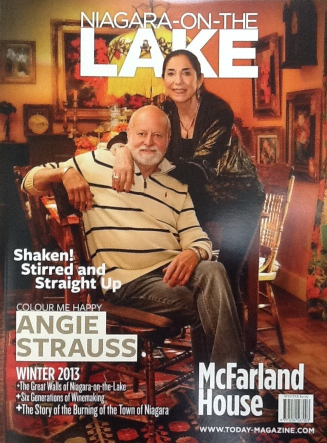 It's here!!! Latest issue of Niagara-On-The-Lake Magazine featuring Angie Strauss on the front cover and a great story inside! Available now in hotels and stores around the Niagara region