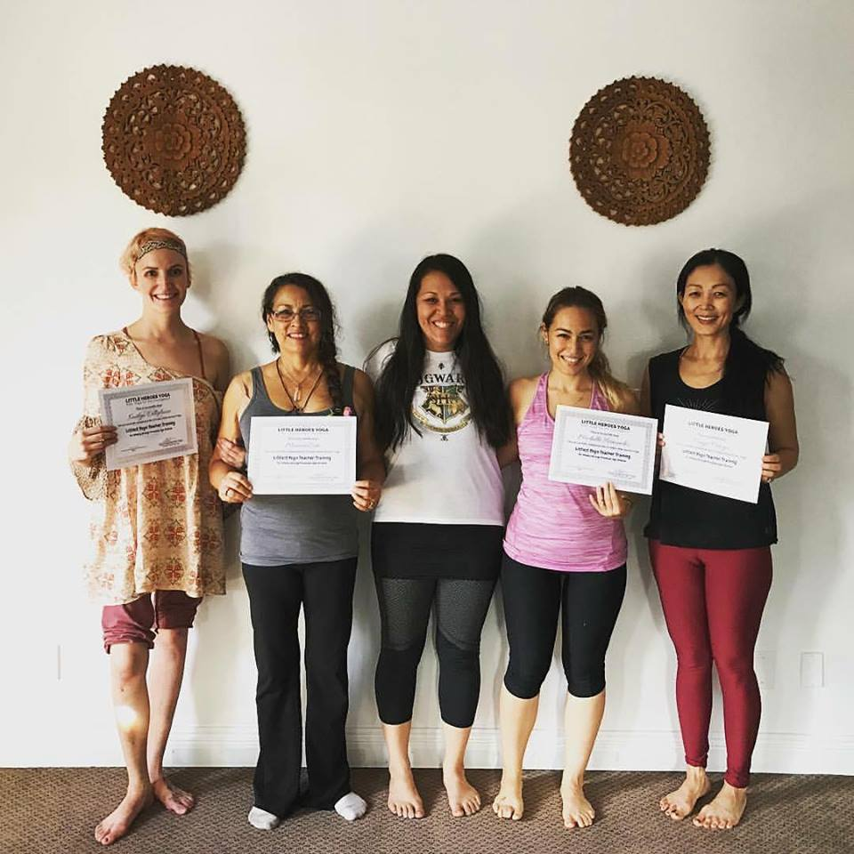 Kids yoga teacher training orange county