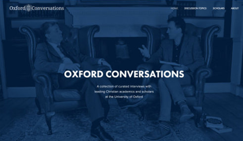 Oxford Conversations Website
