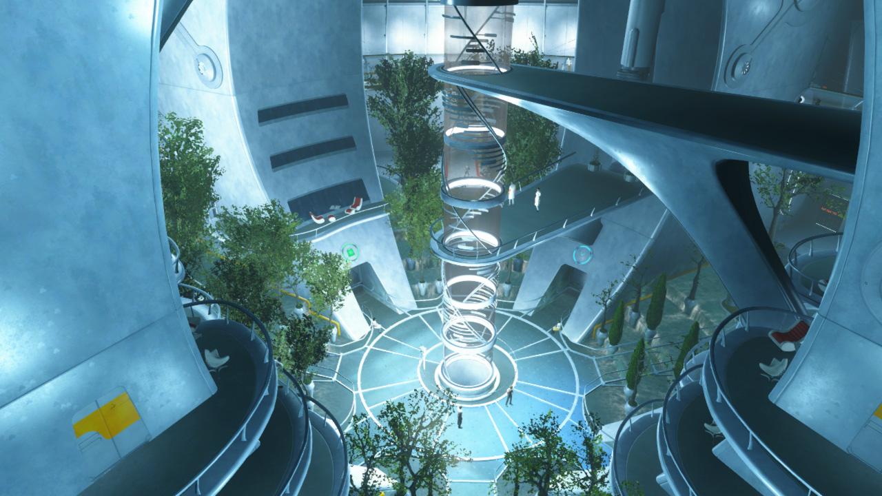 The Institute main area via  Escapist Magazine