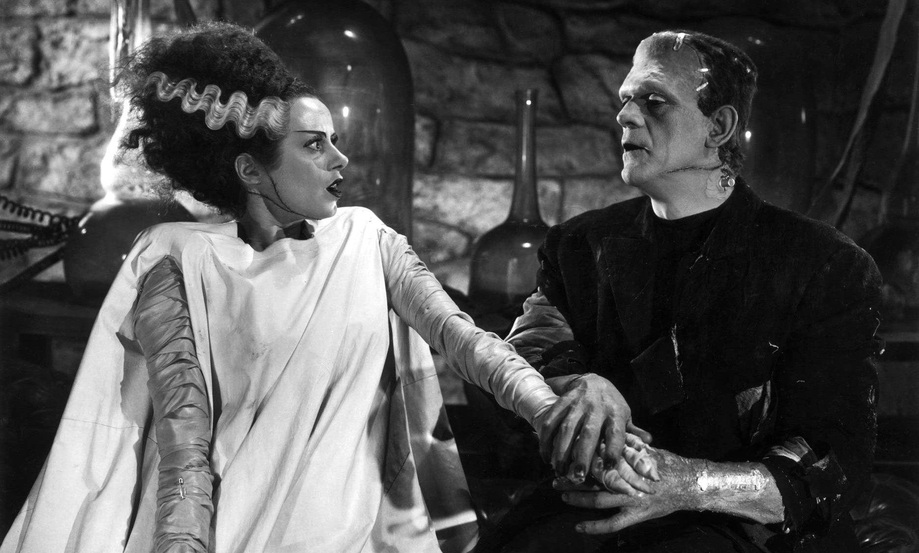The Bride of Frankenstein via Arc Digital.