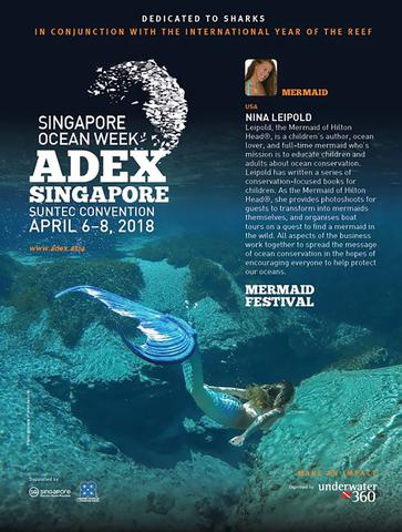 ADEX Singapore - ADEX - Nina Leipold is a speaker on Ocean Conservation April 6-8, 2018