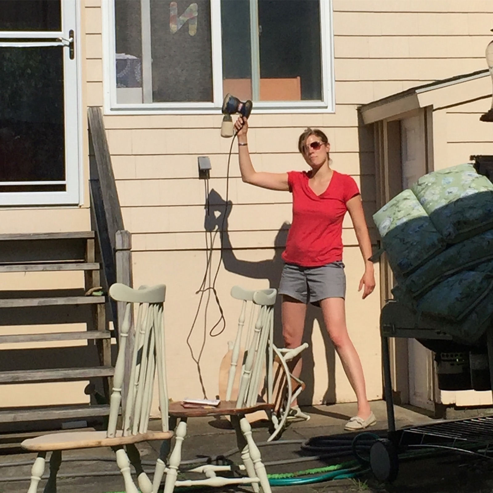 giving new life to old furniture - restoring furniture