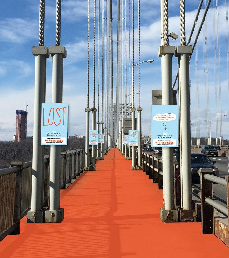 The George Washington Bridge -