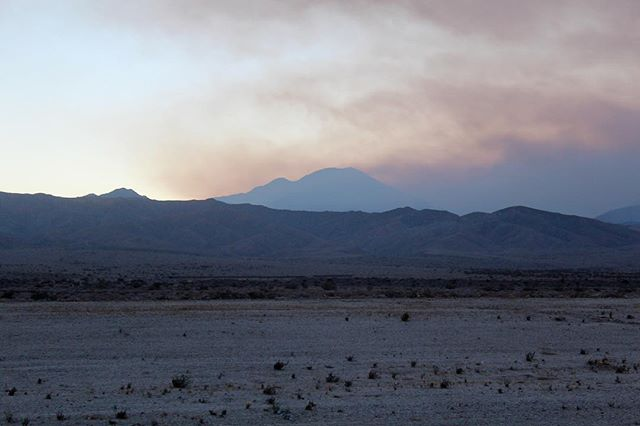 #tbt to driving through Twentynine Palms at dusk (2014).