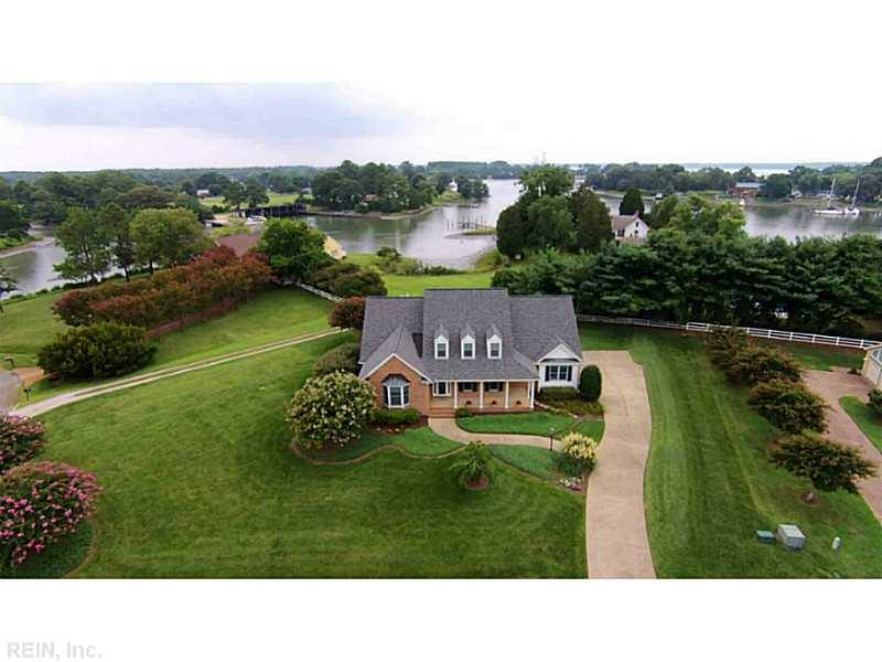 1745 SAWGRASS POINT DRIVE - GORGEOUS CUSTOM BUILT BRICK HOME WITH AMAZING WATER VIEWS