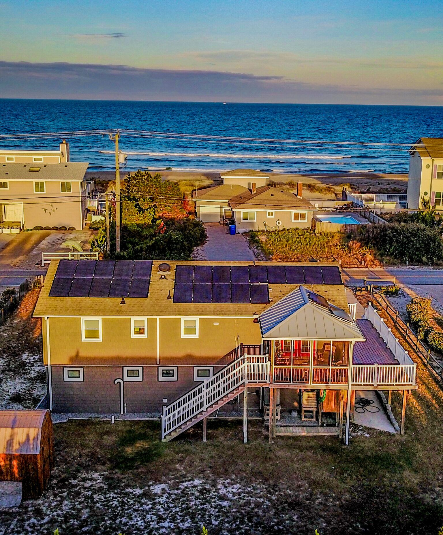 2709 SANDFIDDLER RD - SANDBRIDGE SEMI-OCEANFRONT HOME
