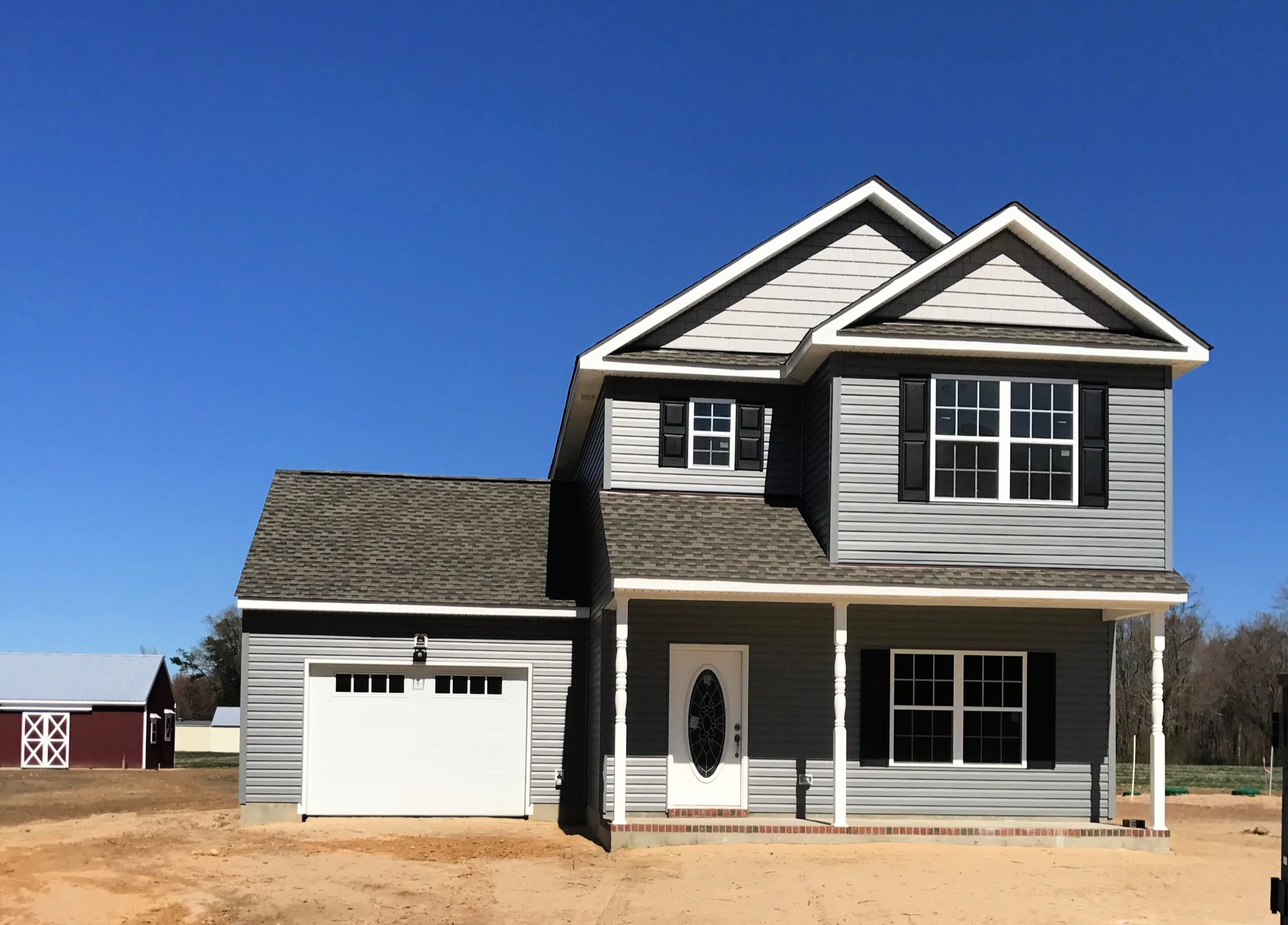 121 LITTLE FORK ROAD - NEW CONSTRUCTION ON 11 ACRES WITH A BARN IN SUFFOLK