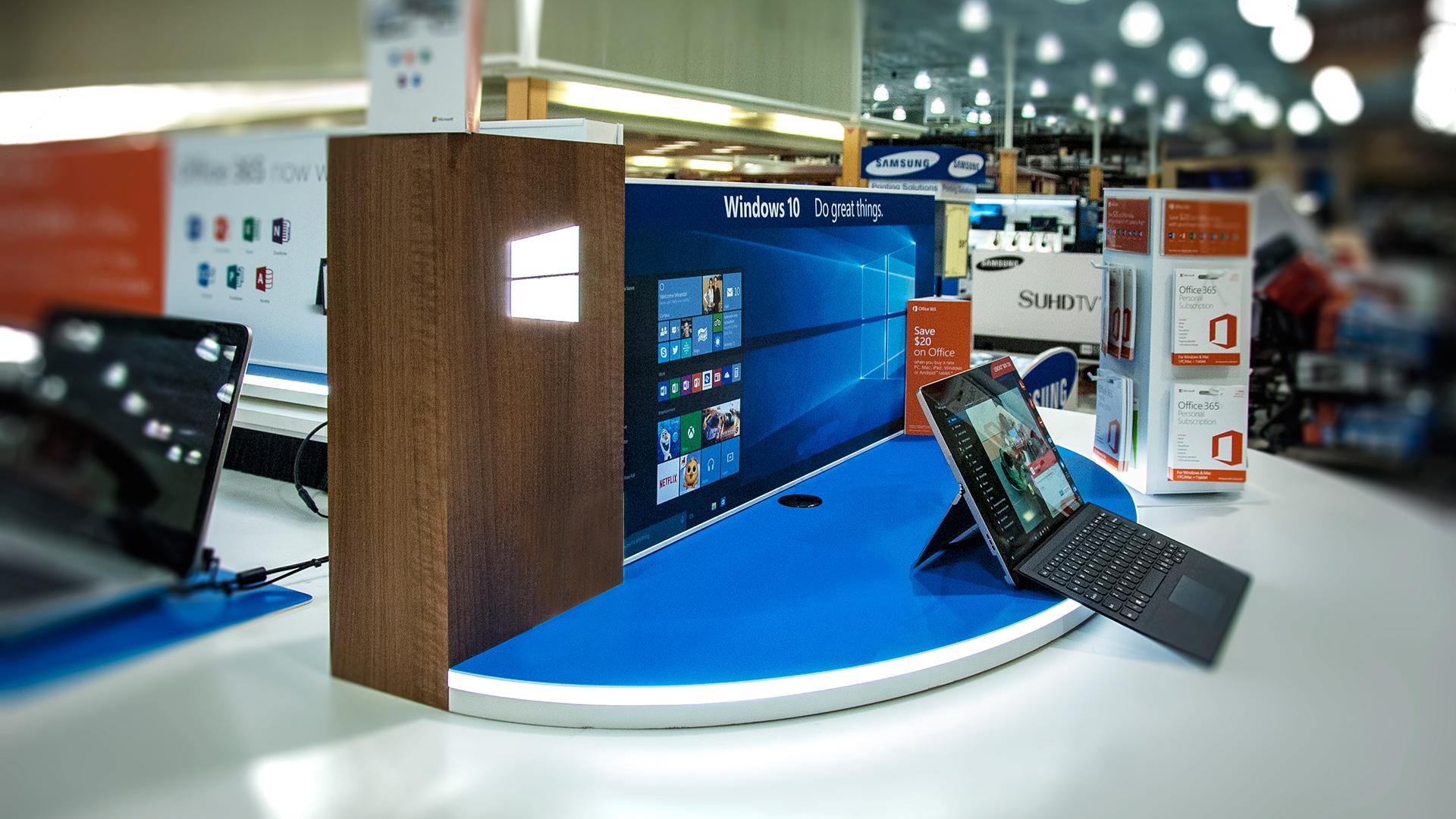 Counter displays, inline displays, product glorifiers, POSA