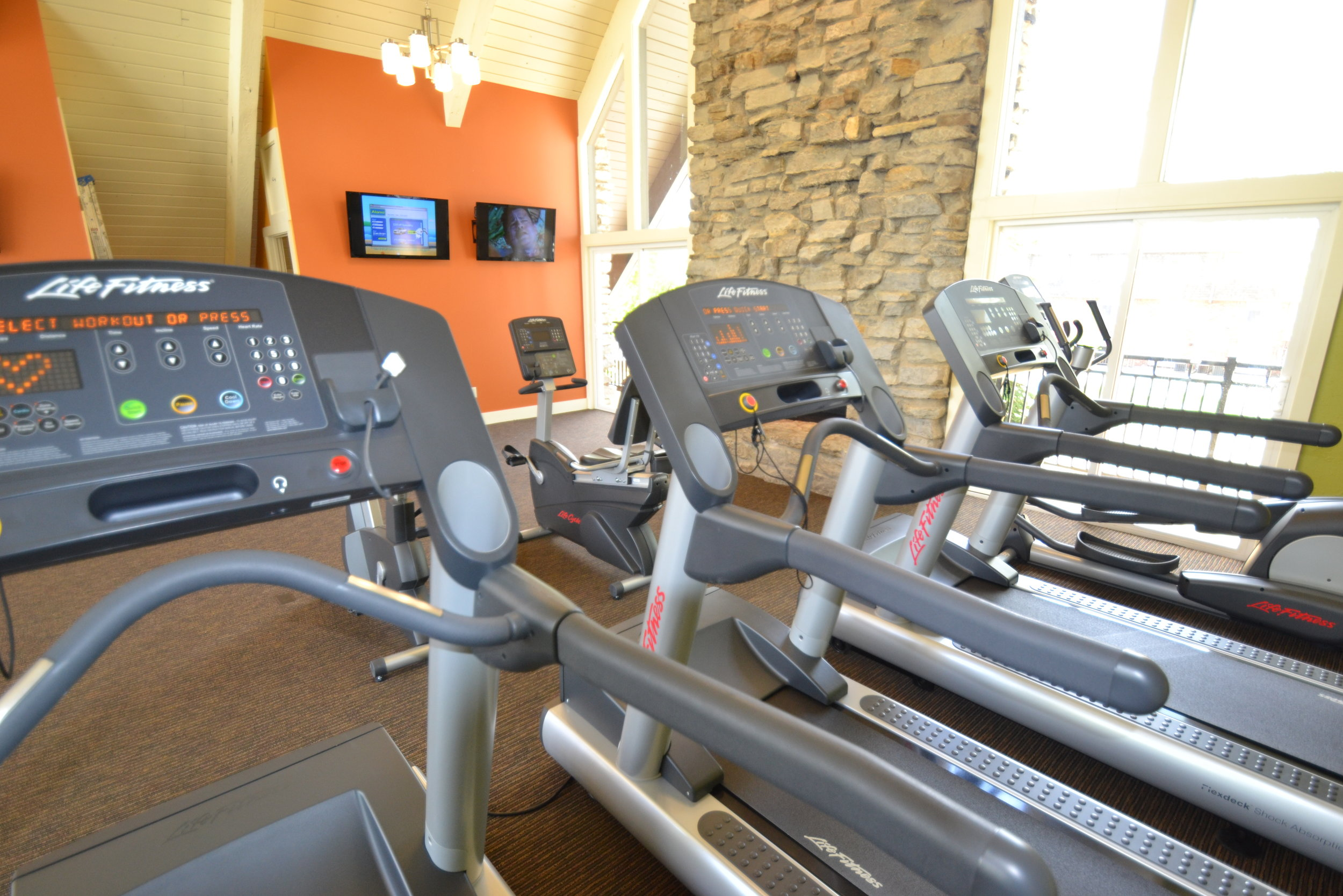 Westminster Fitness Center Treadmills and Bikes