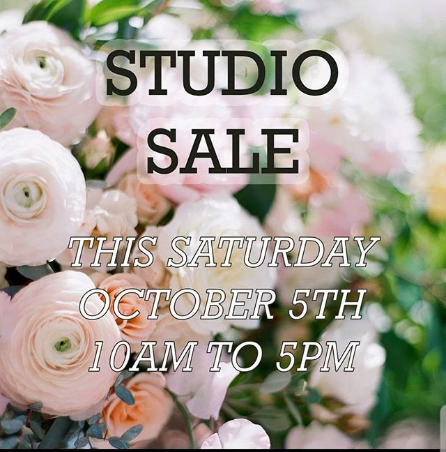 Time to clear out some of our inventory!  We have loads of stuff up for sale - candle holders, candle globes, vases, urns, pedestals, lanterns, arches/arbors, wood boxes, crates, faux cherry blossoms, and much more!  Stop by and shop this Saturday 10/5 from 10am to 5pm.  2646 Palma Drive Suite 160, Ventura 93003. ***CASH ONLY***