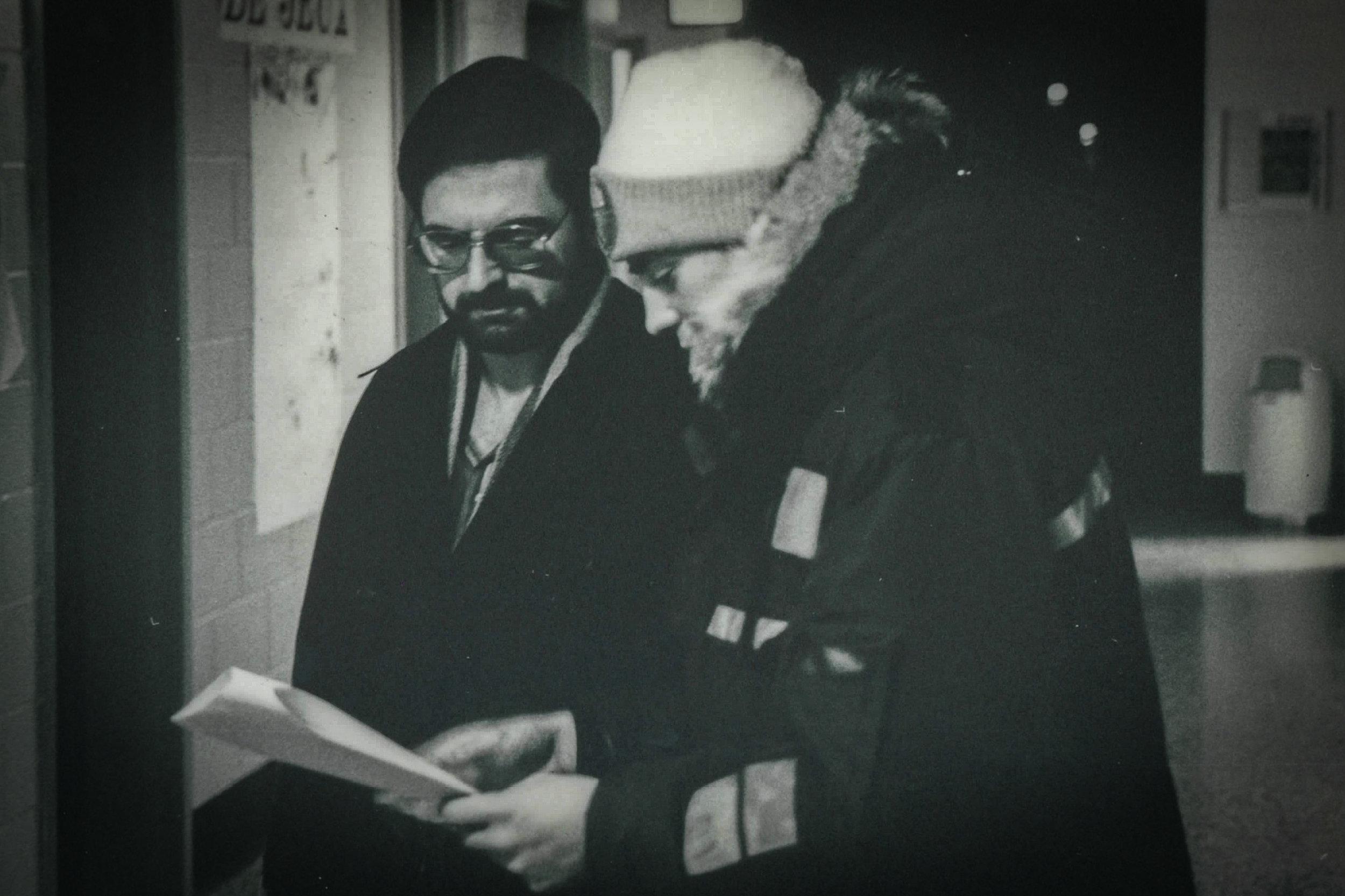 François directs Aurèle Freynet