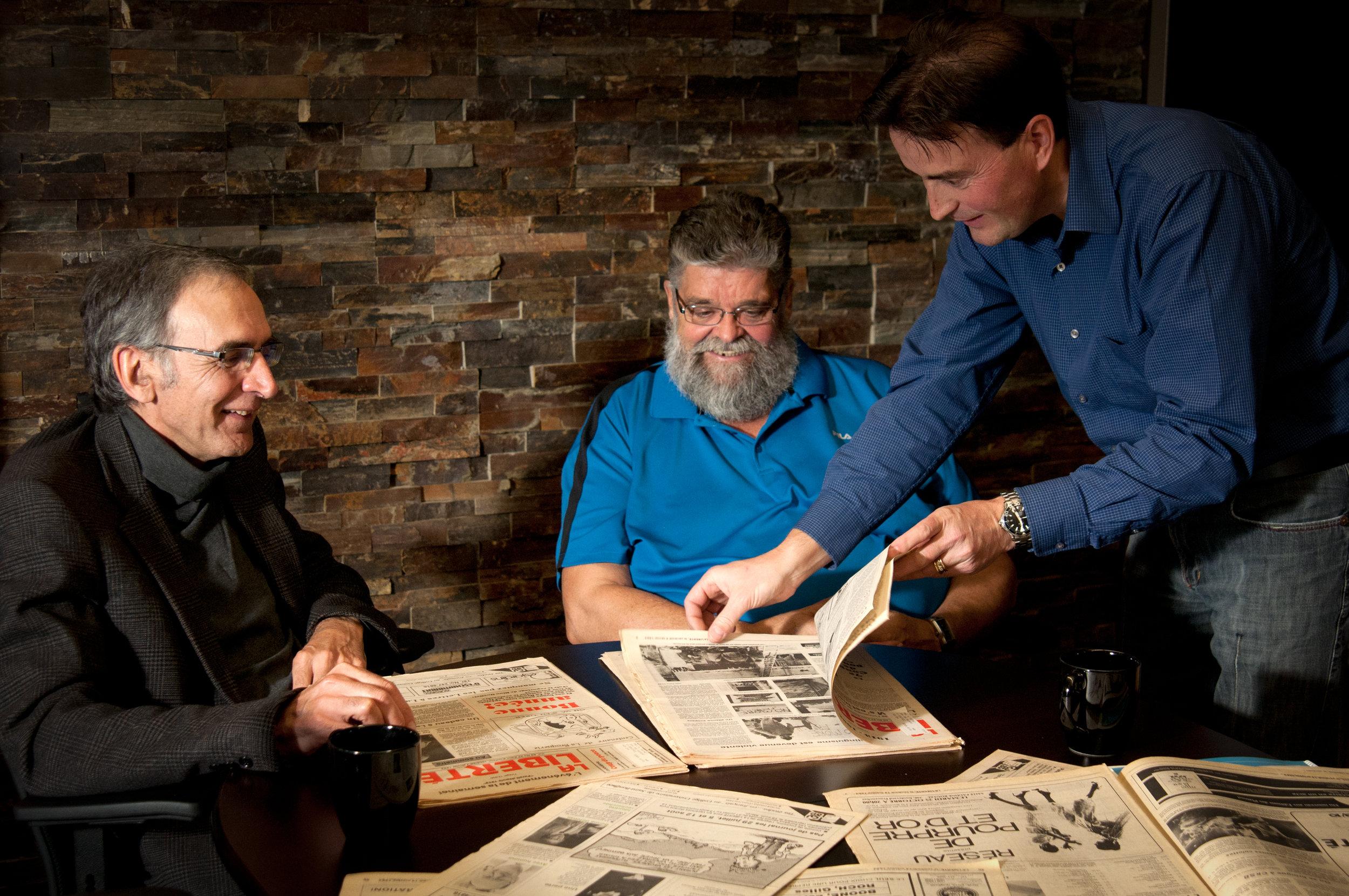 With / Avec - Lucien Chaput et Léo Robert
