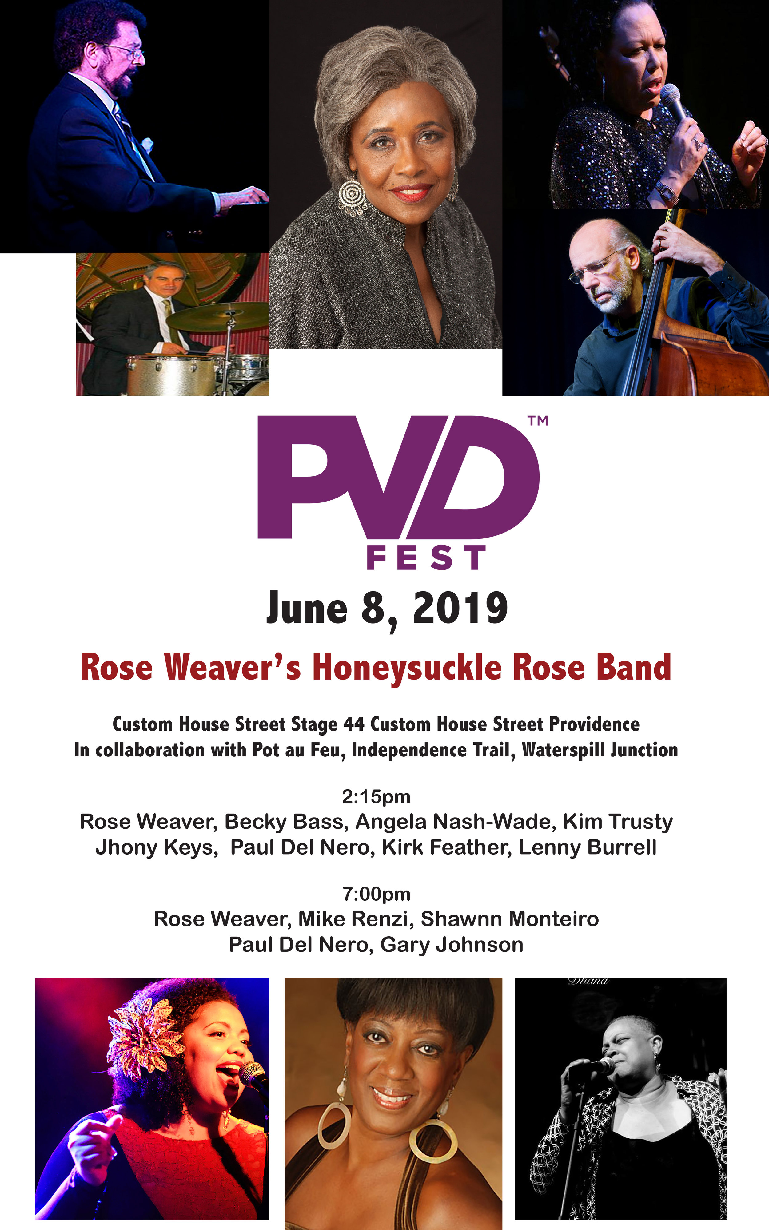 PVDFest 2019 - Rose Weaver's Honeysuckle Rose Band