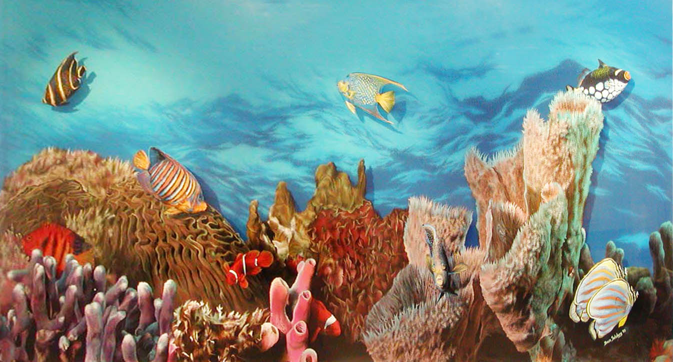 Soul of the Sea - 7' x 4'Call (702)-290-5233 for pricing.