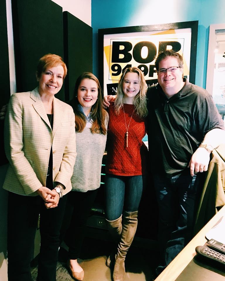 HBG Bike Share @BOB 94.9! - Nancy, Meg, Justine and Newman
