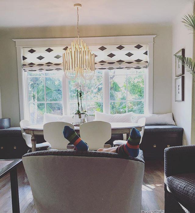 A window box and pair of socks #workinprogress #wsd #interiors #interiordesign