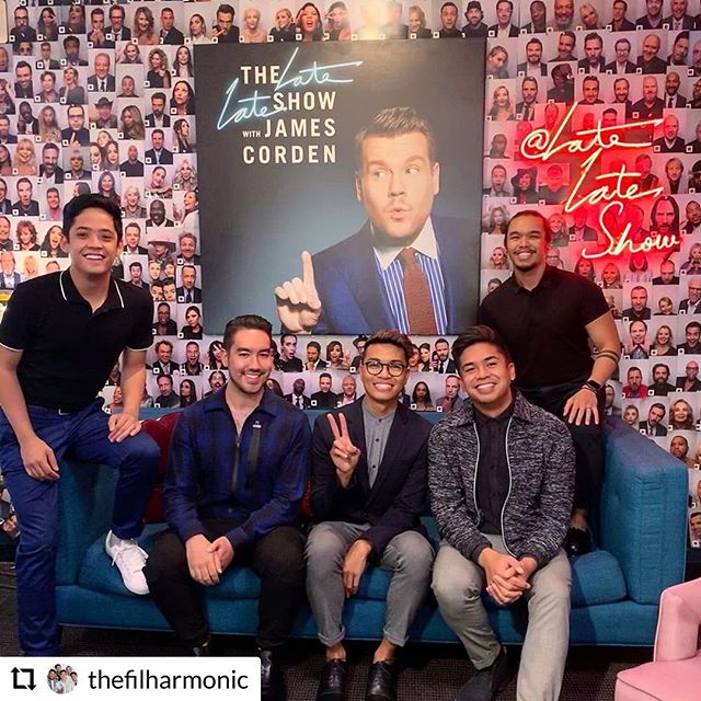Two words. TEAM LEGEND. . . . #RepostPlus @thefilharmonic - - - - - - SURPRISE! Back tonight on @latelateshow to help James Corden settle a score with the amazing JOHN LEGEND. 11:37 PT, tune into CBS to catch it!