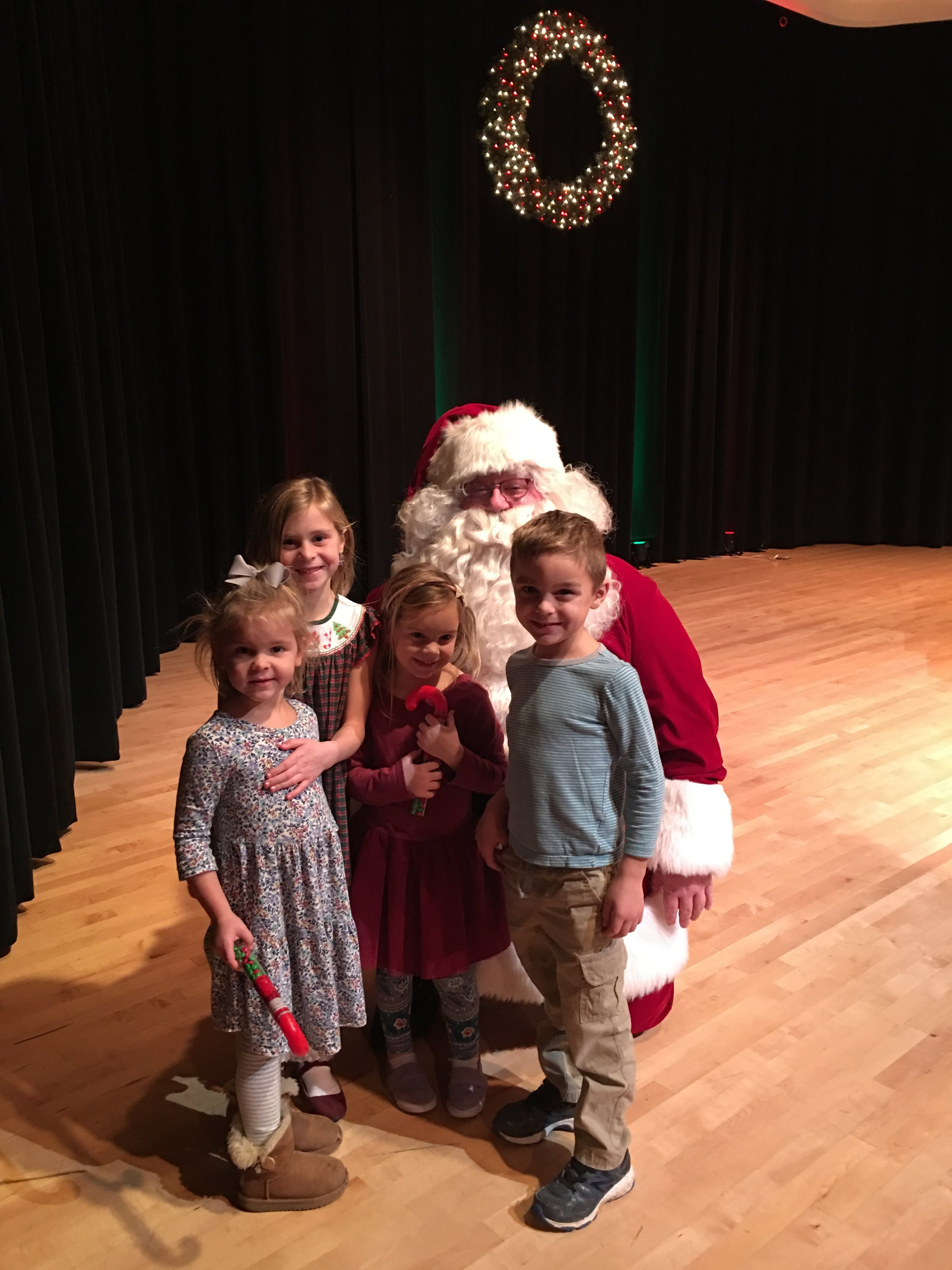 Some of Alicia's students at this year's ACPL Christmas recitals