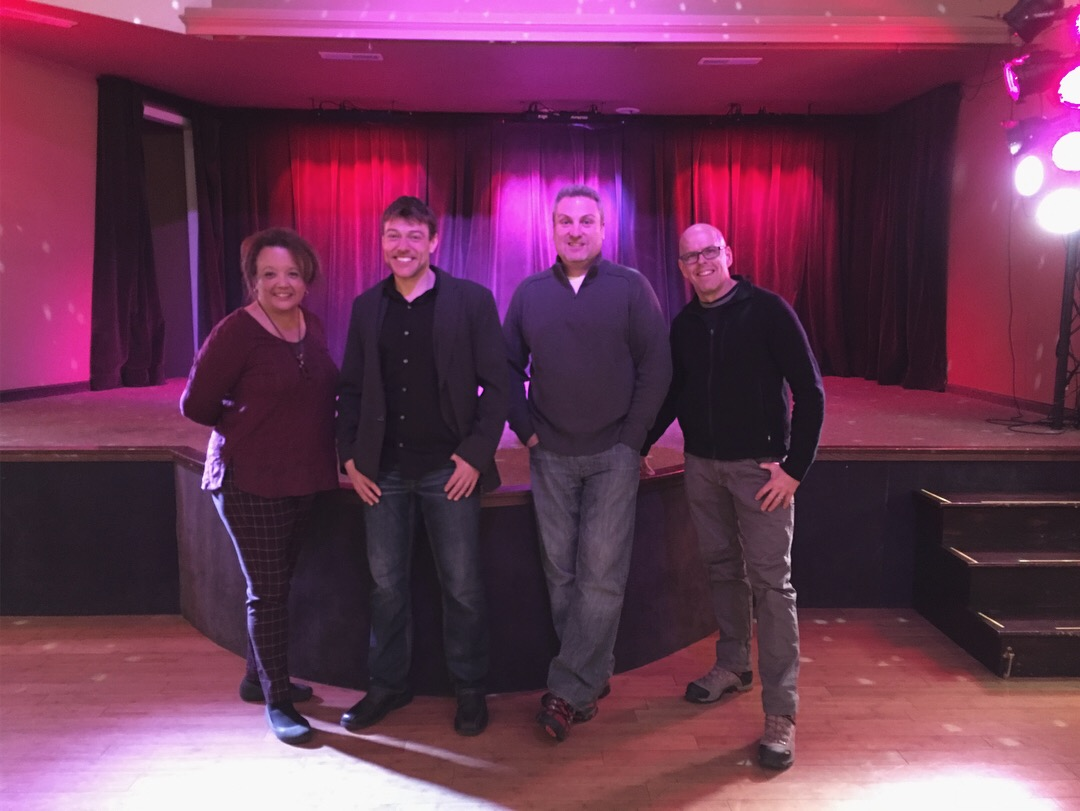 Carrie Riepenhoff, Dennis Junk, Mike Conley & Tim Hall at the Philmore