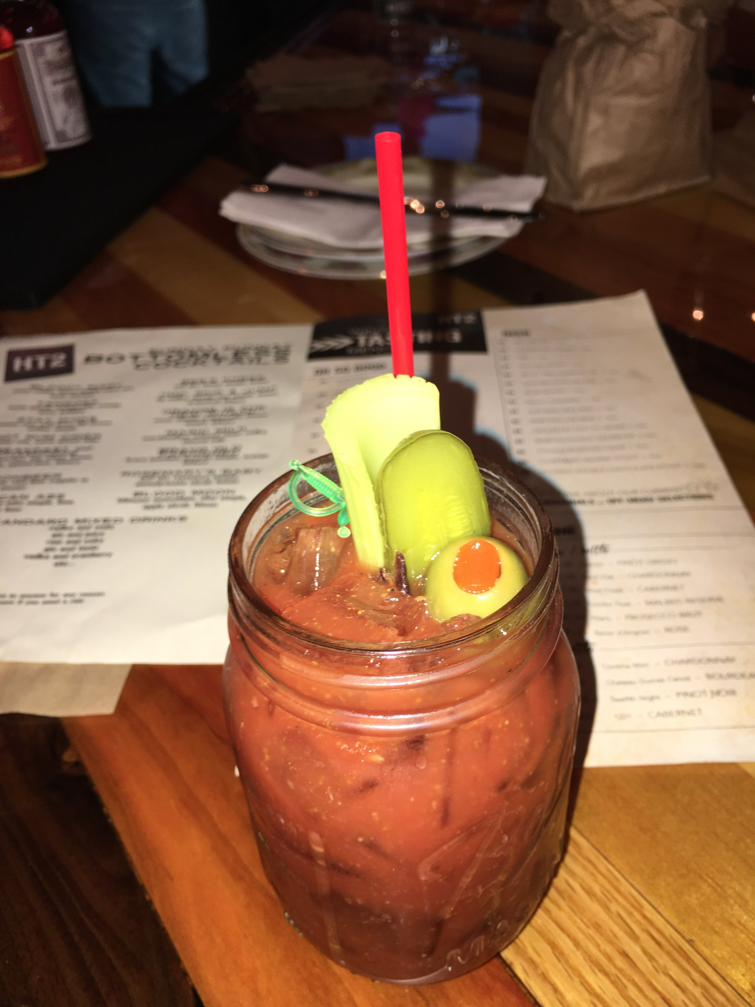 HT2's famous bloody Mary
