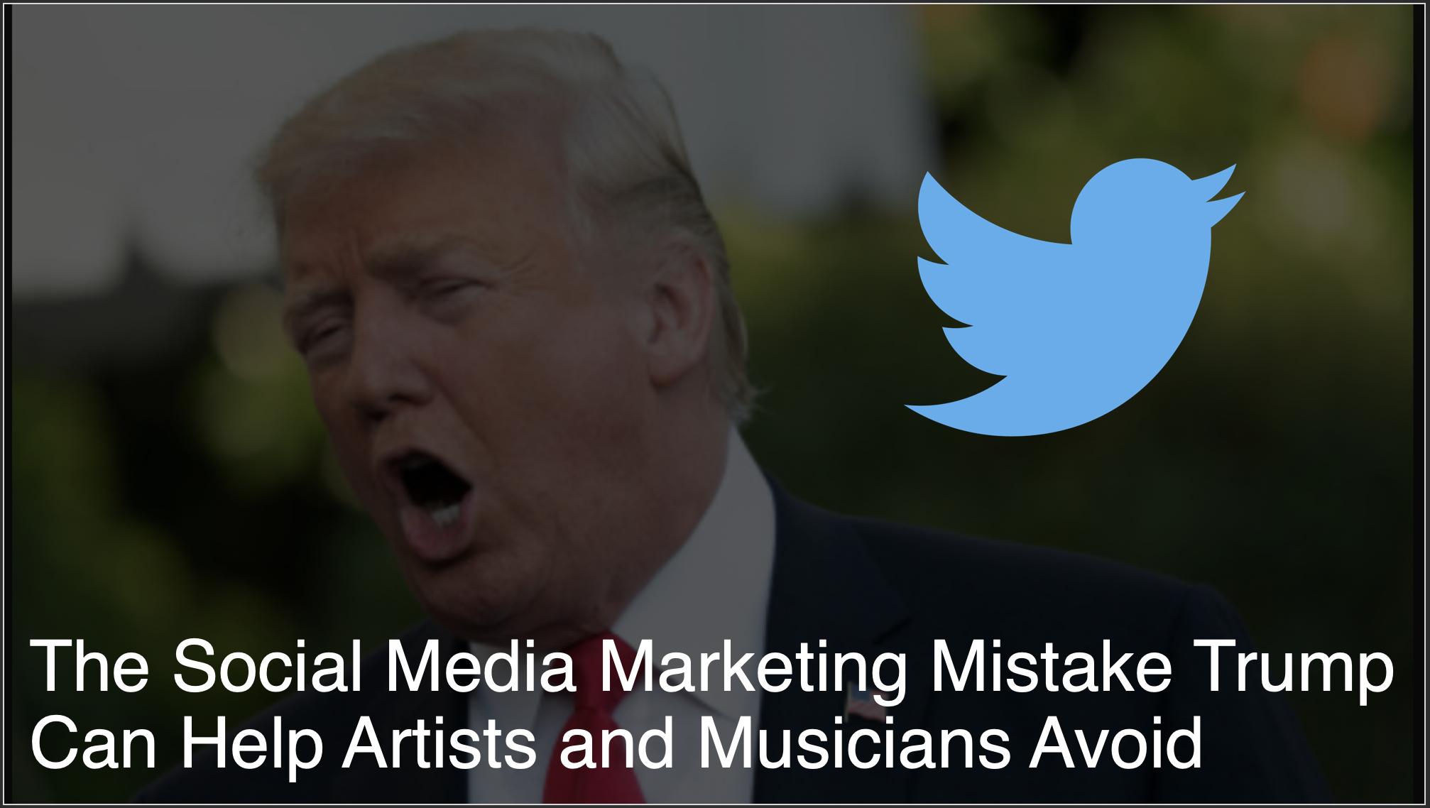 Trump's Social Media strategy