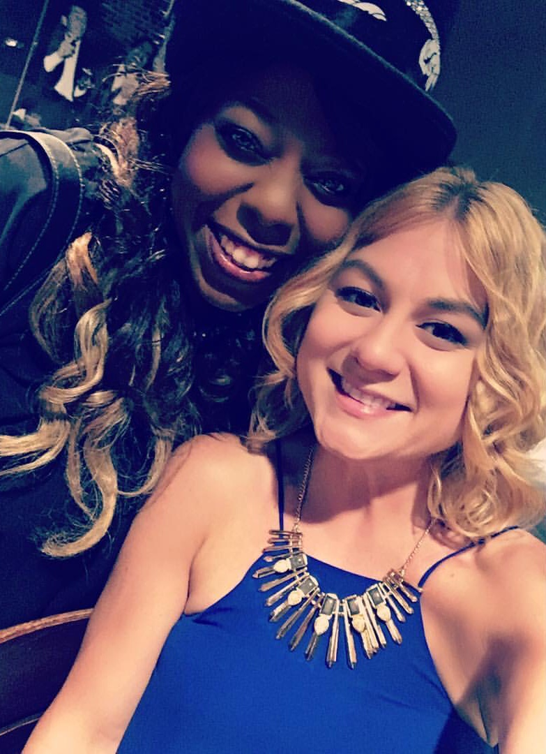 Trinell Armour and Alicia Pyle