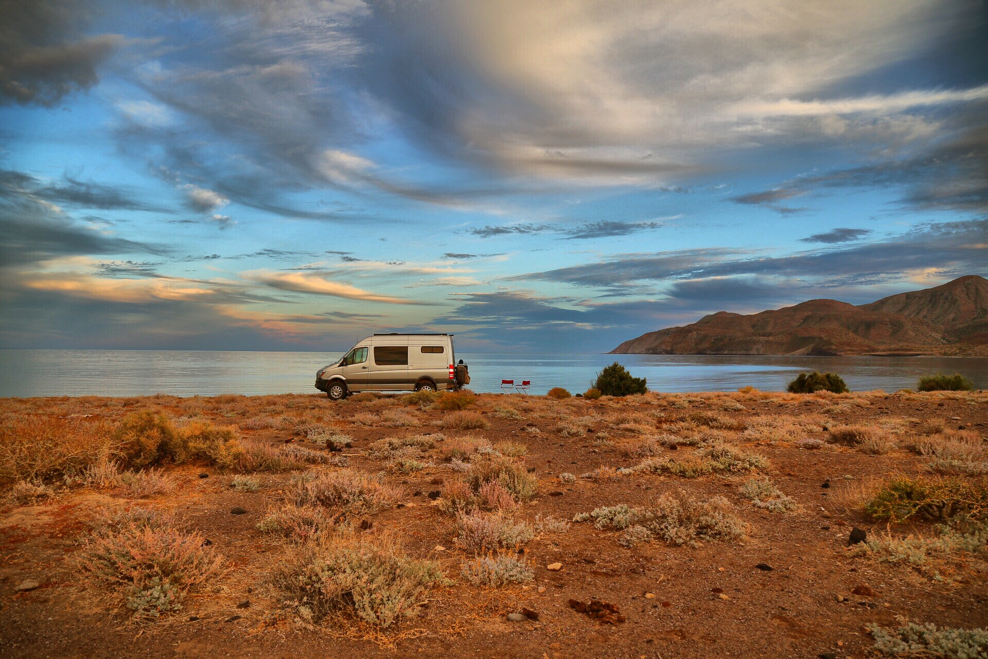 Desolate Camp, somewhere on the Sea of Cortez