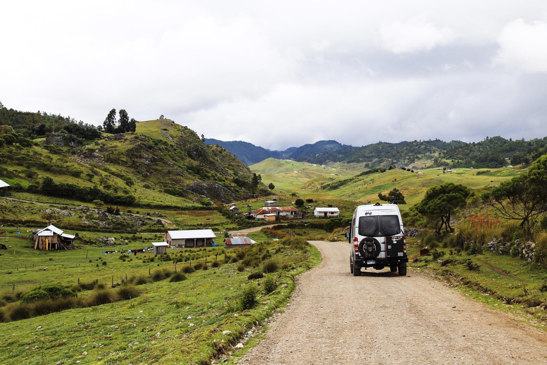 Huehuetenango backroads.