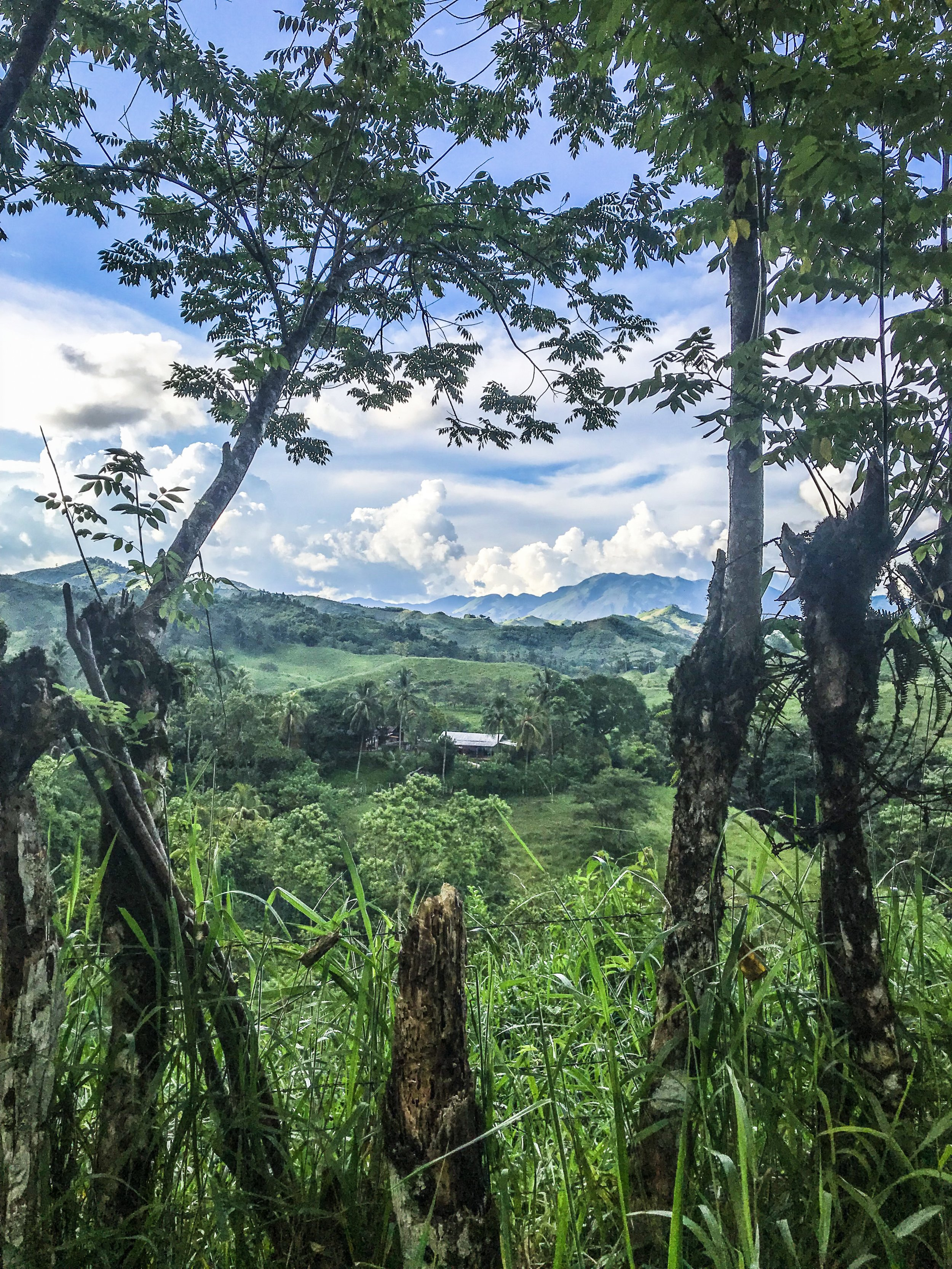 Remote landscape of Huehuetenango.