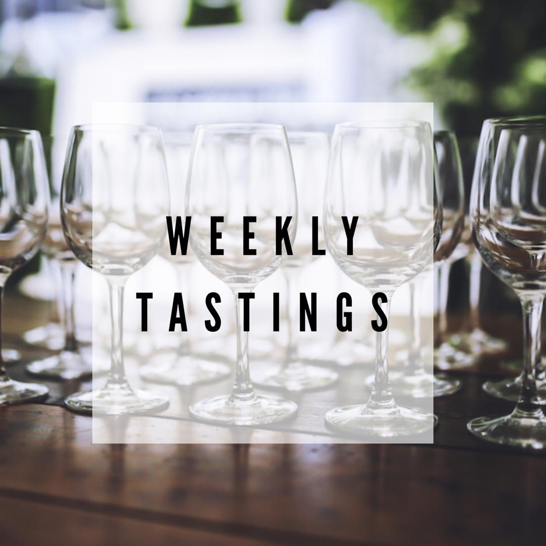 WCW Weekly Tastings