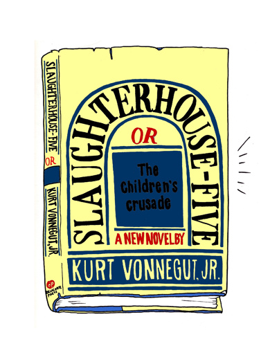 Summer Pierre, Slaughterhouse Five book cover, 2015
