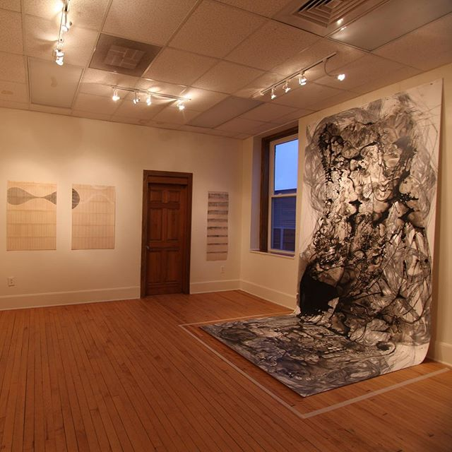 PANGS: Ali Palin, Misoo, Susan Smereka opened this past Friday and will be on exhibit through April. Stop in and see this remarkable work, Tuesday-Friday, 11-5pm. 132 Church Street, Burlington, Vermont. Link to our website in bio.
