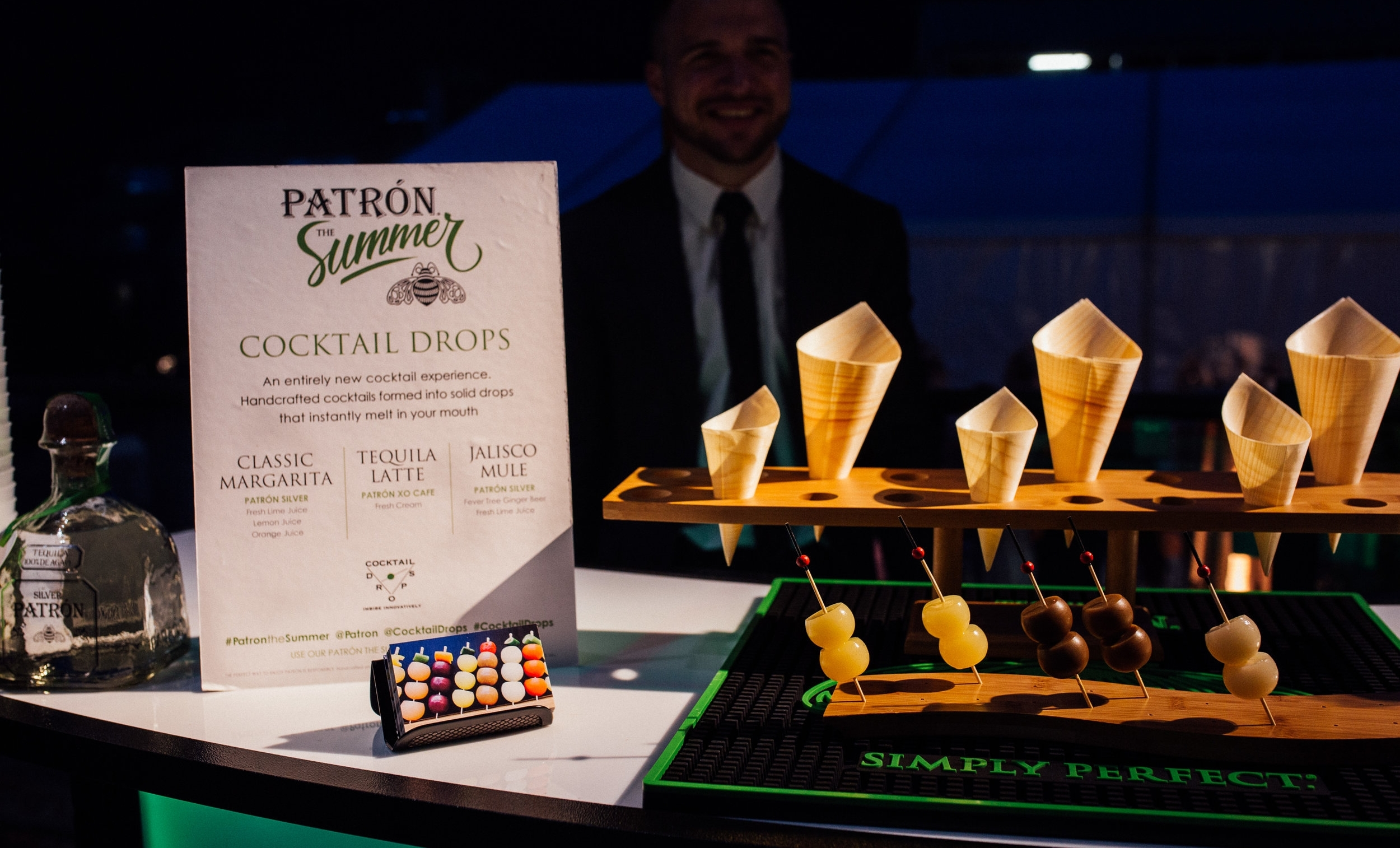 Featured by Patrón Spiritsat the 2017 Food & Wine Classic in Aspen